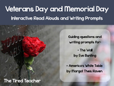 Veterans Day and Memorial Day Read Alouds - The Wall and America's White Table