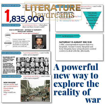 Veterans Day and Remembrance Day War Writing Activities
