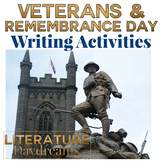 Veterans Day Activities and Remembrance Day War Writing