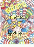 Veterans Day and Thanksgiving Art Project