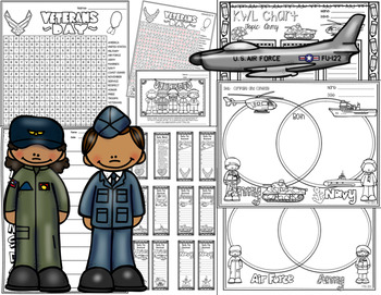 Veterans Day and United States Military Packet