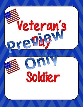 VETERANS DAY ACTIVITIES With Writing and Resources