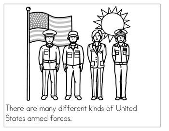 Veteran's Day coloring book