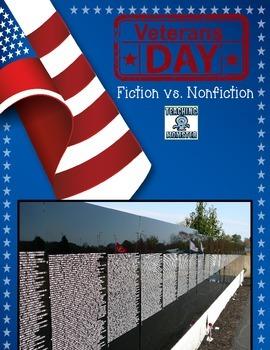 Veteran's Day--compare fiction vs. nonfiction