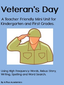 Veteran's Day for Kindergarten and First