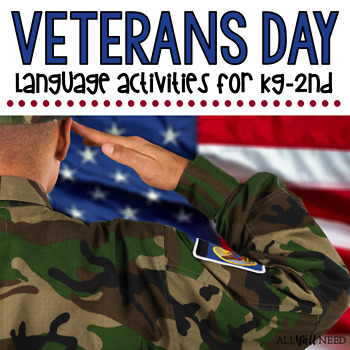 Veterans Day for Speech & Language Therapy - Younger Elementary