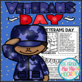 Veterans Day for the Primary Child...Craft and Activities!