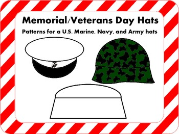 Veterans Day/Memorial Day Hat Patterns