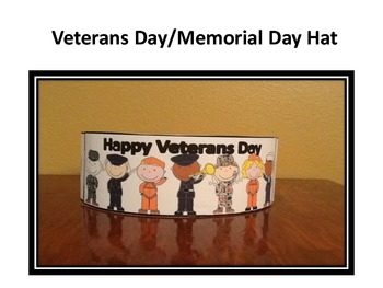 Veterans Day/Memorial Day Hats