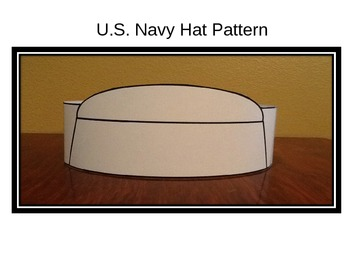 Veterans Day/Memorial Day Navy Hat Pattern