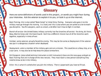 Veterans' Interview Project