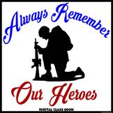 Veterans/Memorial Day Digital Class Book