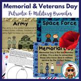 Veterans & Memorial Day Pack ~ Teaching Posters ~ Activities ~ Worksheets