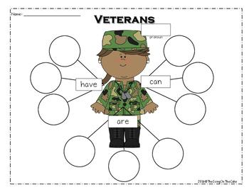 Veterans Mini Writing Unit