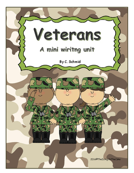 Veterans Mini Writing Unit