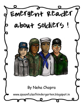 Veterans/Soldiers Emergent Reader