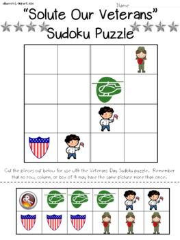 Veterans Sudoku Puzzle Bundle