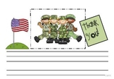 Veteran's Thank You Writing Template