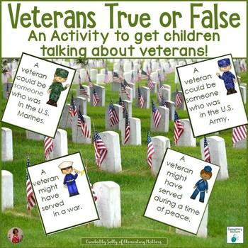 Veterans True or False