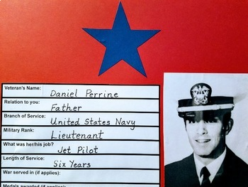 Veterans Wall of Honor: A Veterans Day FREEBIE/Grades 3-5