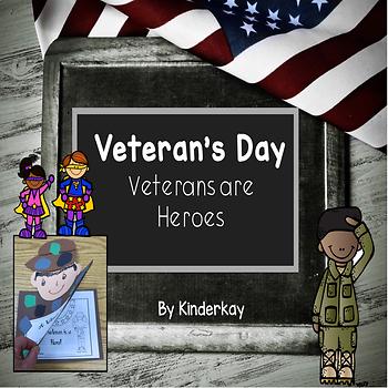 Veterans are Heroes - For Little Kids