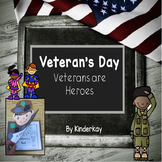 Veterans Day - Veterans are Heroes