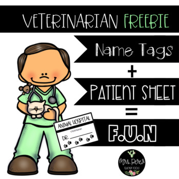 Veterinarian Center Freebies