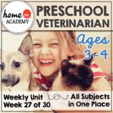 Preschool Veterinarian Community Helpers Printables (Week 27)