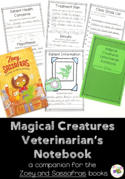 Veterinarian Notebook: A Companion to the Zoey and Sassafras books