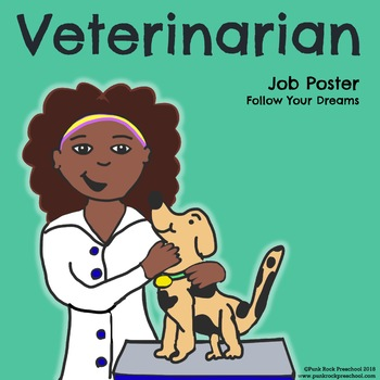 Veterinarian Poster - Discover Your Passions