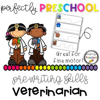 Veterinarian Prewriting Skills {Dollar Deal}