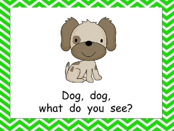 Veterinarian, Veterinarian, What Do You See Shared Reading for Kindergarten