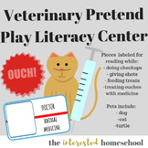 Veterinarian Pretend Play Literacy Center
