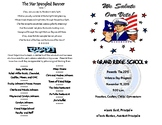 Veterans Day Program Guide #4  {EDITABLE TEMPLATE}