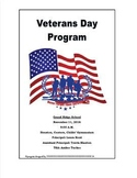 Veters Day Program Guide {EDITABLE TEMPLATE}