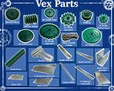Vex Robotics Parts Poster