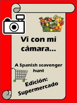 Vi Con Mi Cámara Edición Supermercado - A Supermarket Scavenger Hunt