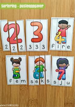 Vi sorterer 2: Tallene fra 0-10 [BM&NN]