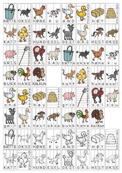 Vi sorterer 23: Gårdsdyr [BM&NN]