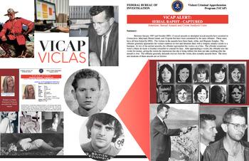 ViCAP USA ~ ViCLAS Canada ~ FREE POSTER ~ CRIMINAL LAW