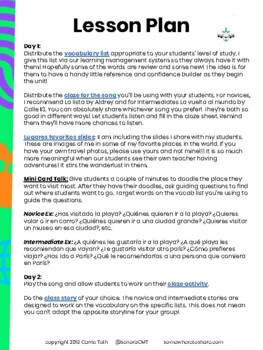 Viaja conmigo - Novice and Intermediate in ONE