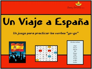 """Viaje a Espana: """"Yo-go"""" verb game"""