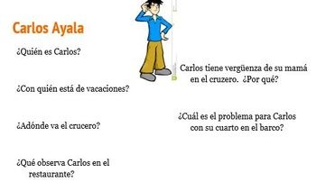 Viaje de Su Vida -PowerPoint, Character Chart and Class Notes