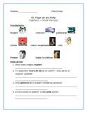 Viaje de su Vida- Chapter One worksheets (differentiated)