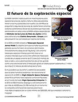 Viajes y tecnología espacial: El futuro de la exploración espacial