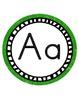 Vibrant Alphabet Letters