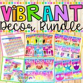 Vibrant Classroom Decor {BUNDLE}