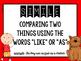 Vibrant Figurative Language Posters