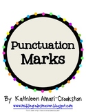 Vibrant Punctuation Marks