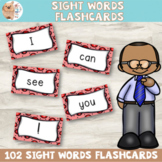 Vibrant Sight Words Flashcards - Emergent Reader
